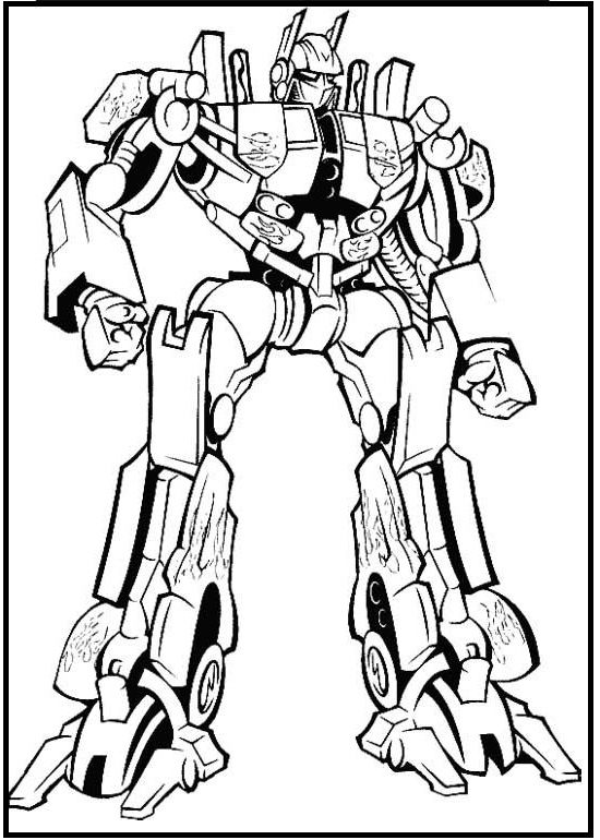 for Ironhide coloring pages